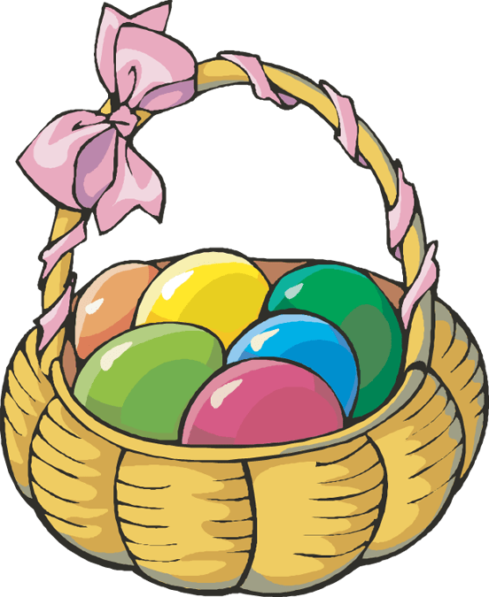 free easter clipart lines