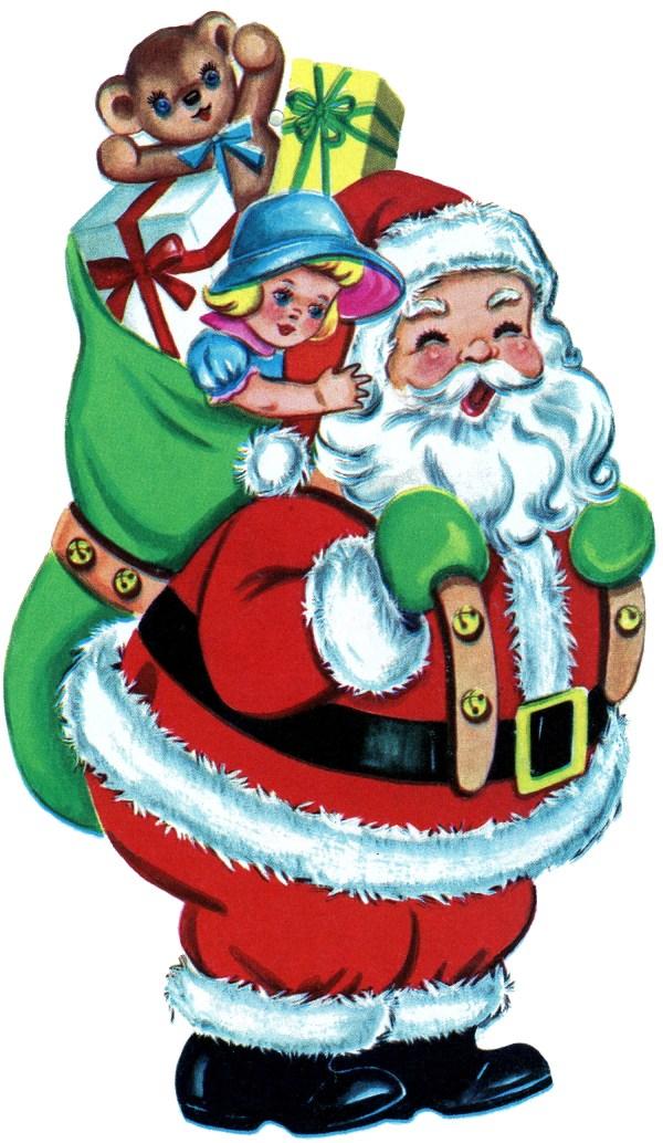 Free Vintage Christmas Clip Art Clipart Panda Free