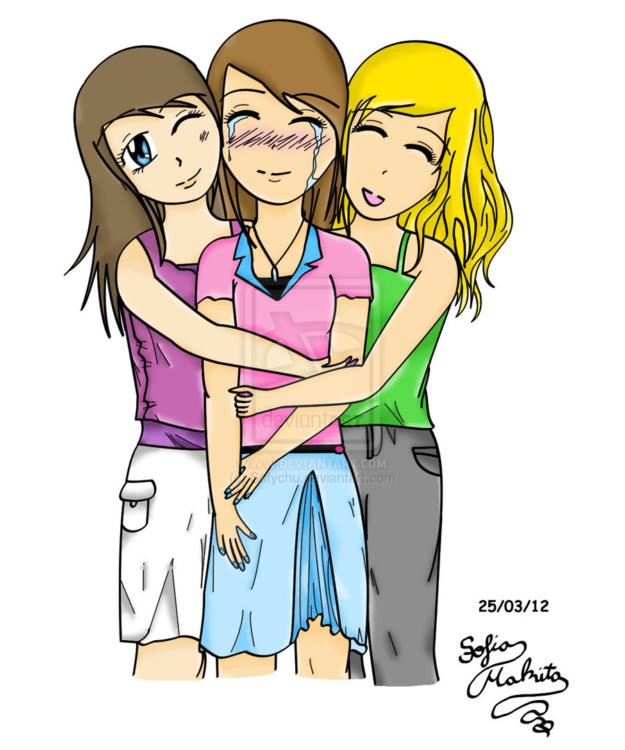 hight resolution of friends hugging drawing clipart panda free clipart images