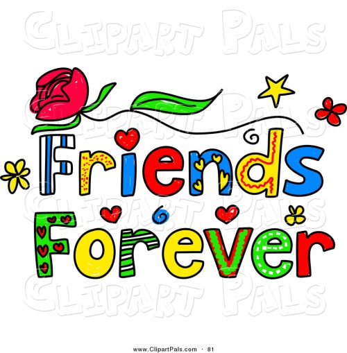 small resolution of friendship clipart