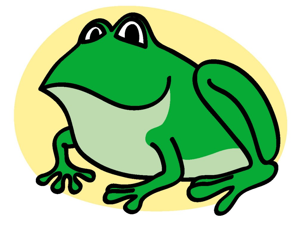 hight resolution of frog clip art