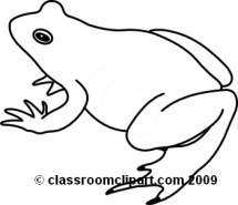 Frog On A Log Clip Art Black And White Clipart Panda