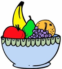 Fruit Bowl Drawing With Shading | Clipart Panda - Free ...