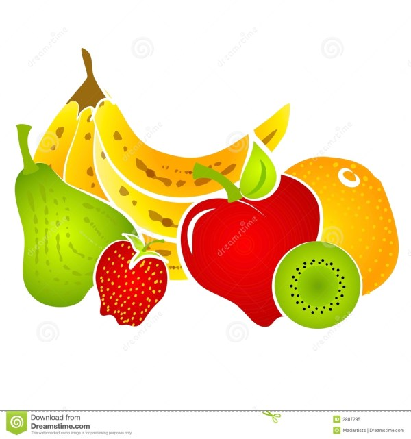 Fruit Clipart Set Panda - Free