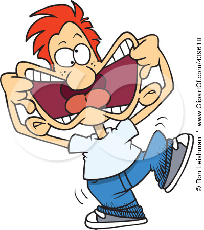 team achievers- funny faces clipart