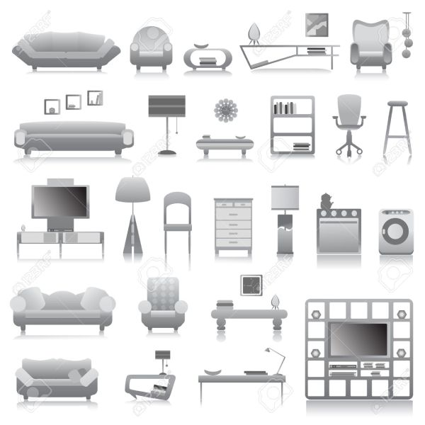 office furniture clipart