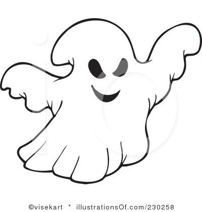 ghost clip art pattern clipart