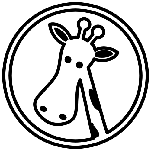 small resolution of giraffe clipart outline