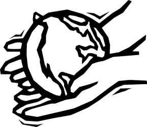globe outline earth drawing hand hands clip clipart god clipartpanda kindness planet terms
