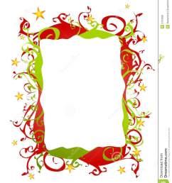 christma border clipart free [ 1101 x 1300 Pixel ]