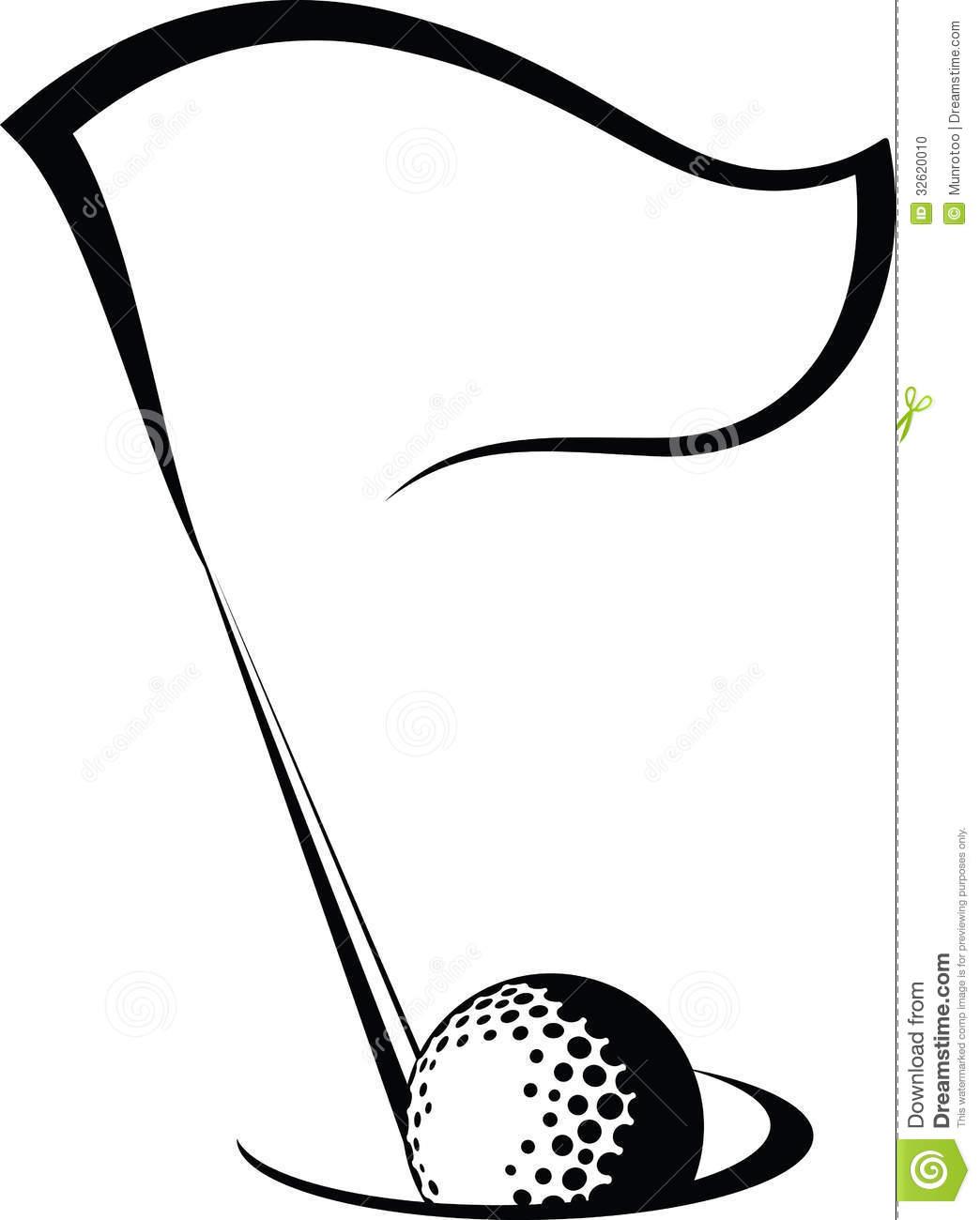Golf Clipart Black And White Clipart Panda