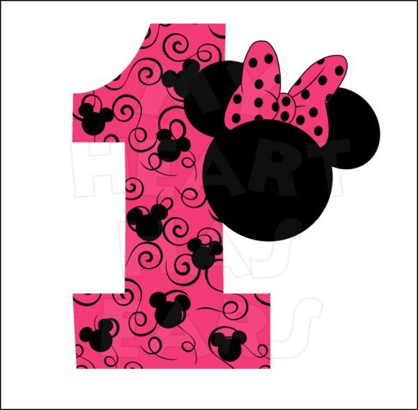 Minnie Mouse Birthday Clip Art