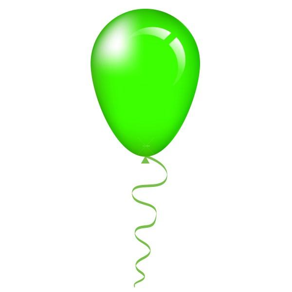 single balloon clip art clipart