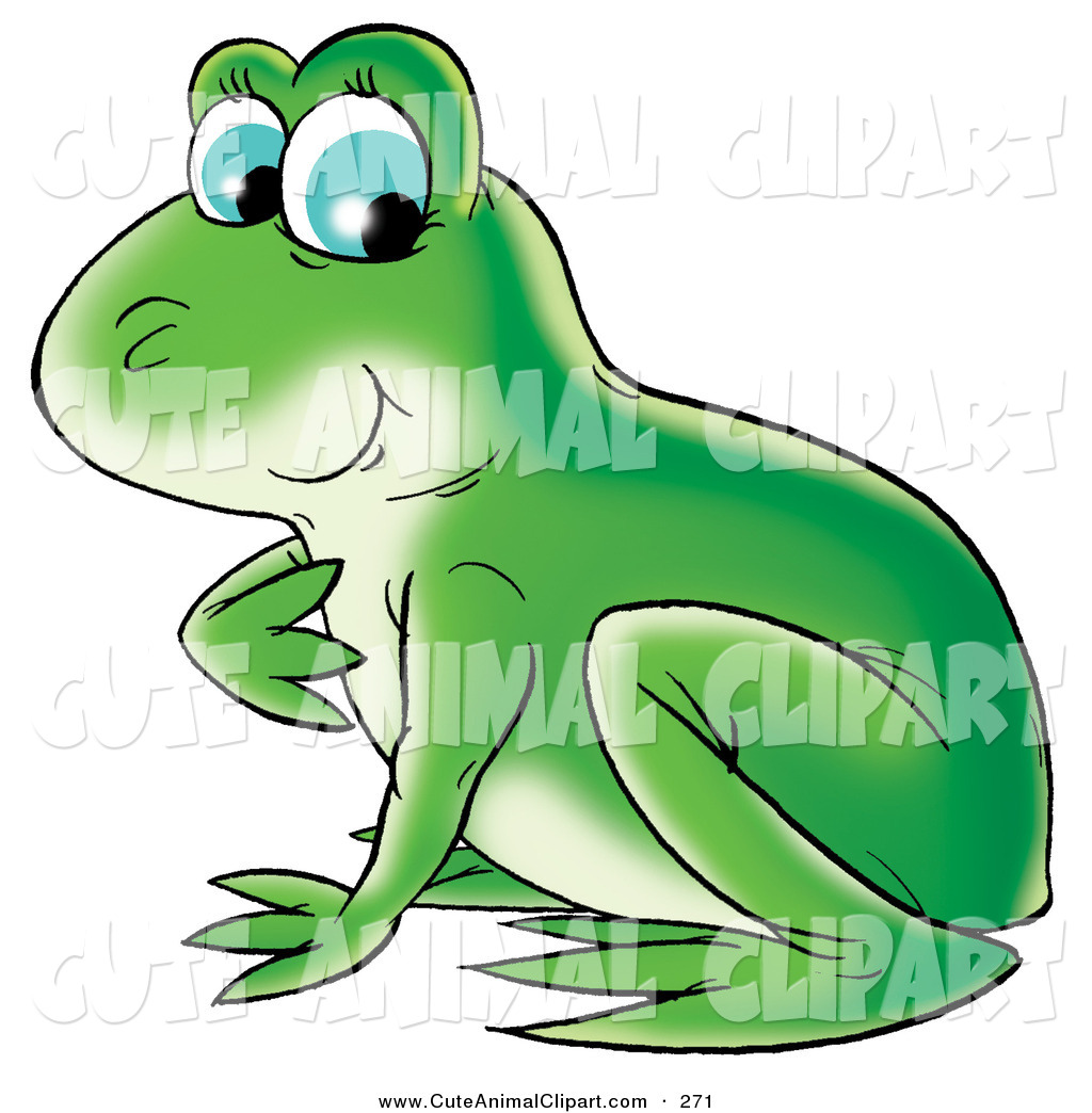 hight resolution of green frog clipart