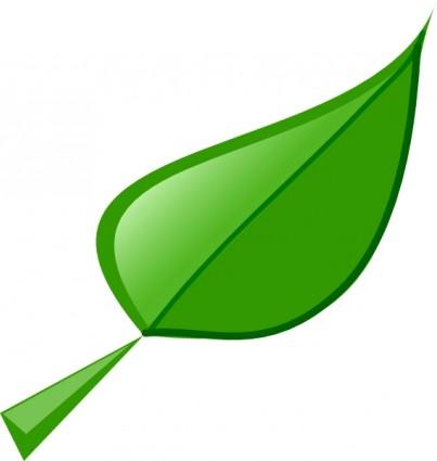 green leaf clipart panda