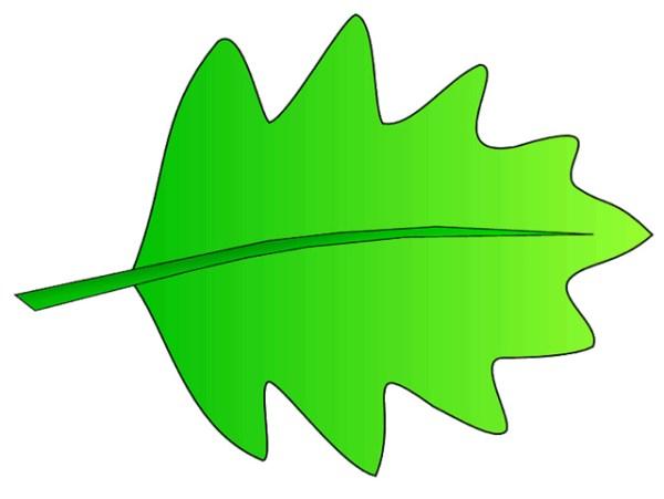 green leaves clip art clipart