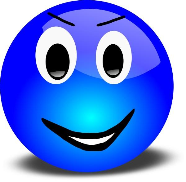 winking smiley face clip art