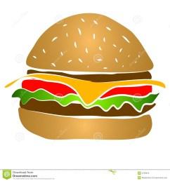 hamburger clipart [ 1300 x 1390 Pixel ]