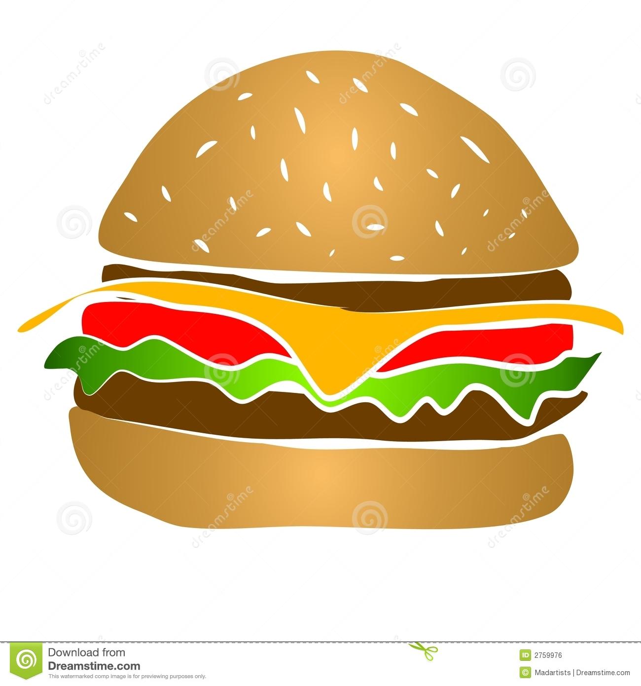 hight resolution of hamburger clipart