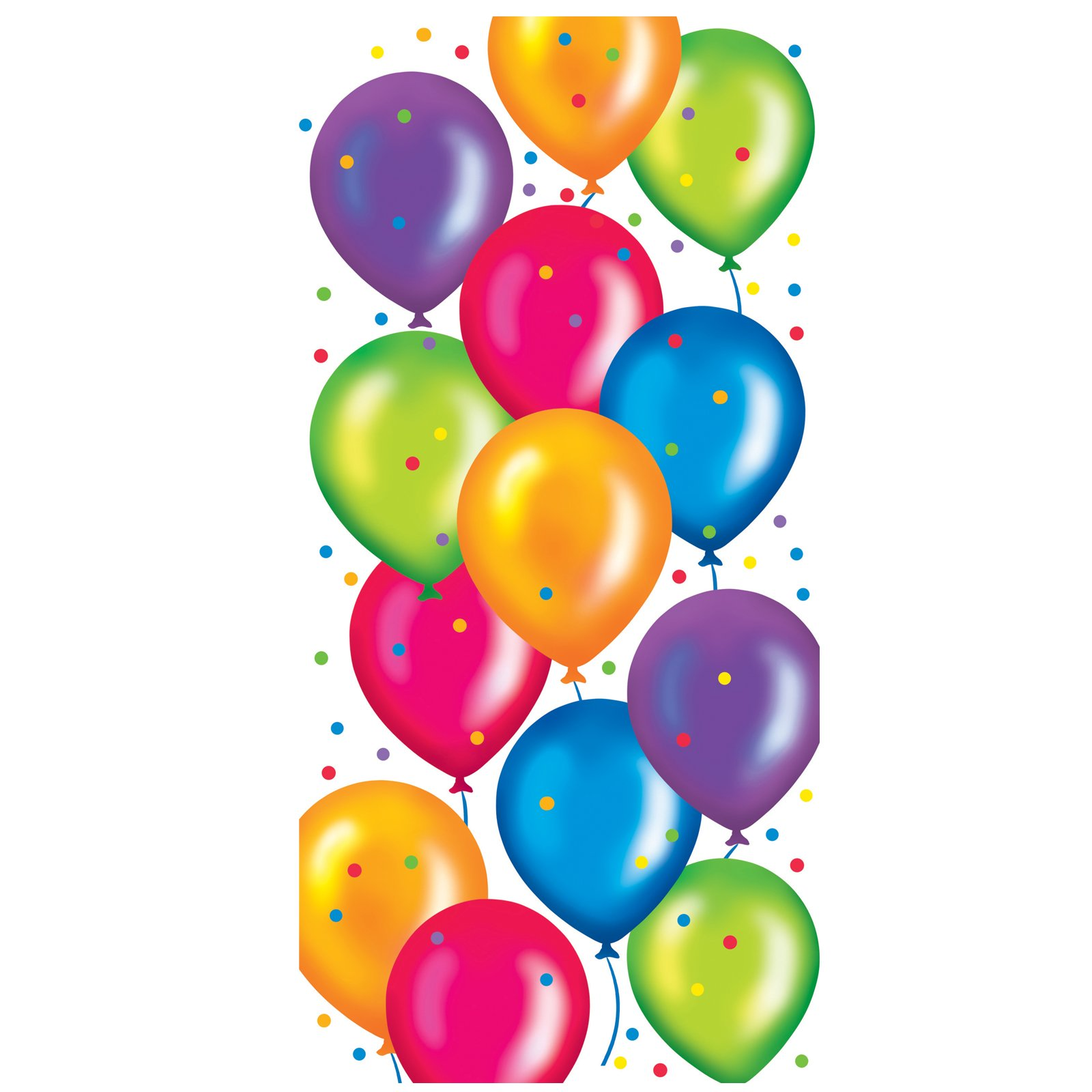 hight resolution of happy birthday balloons clipart