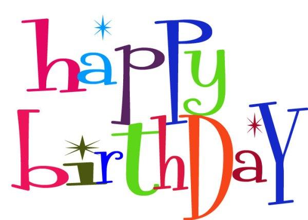 happy birthday clip art free