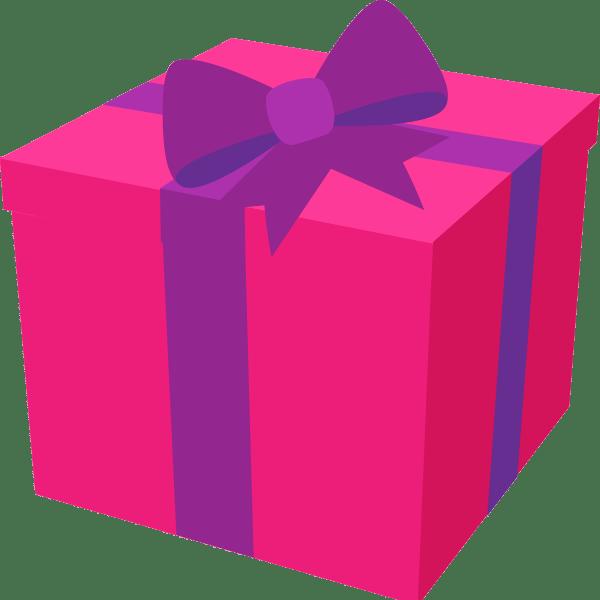happy birthday present clipart