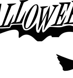 happy halloween clipart [ 3200 x 1209 Pixel ]