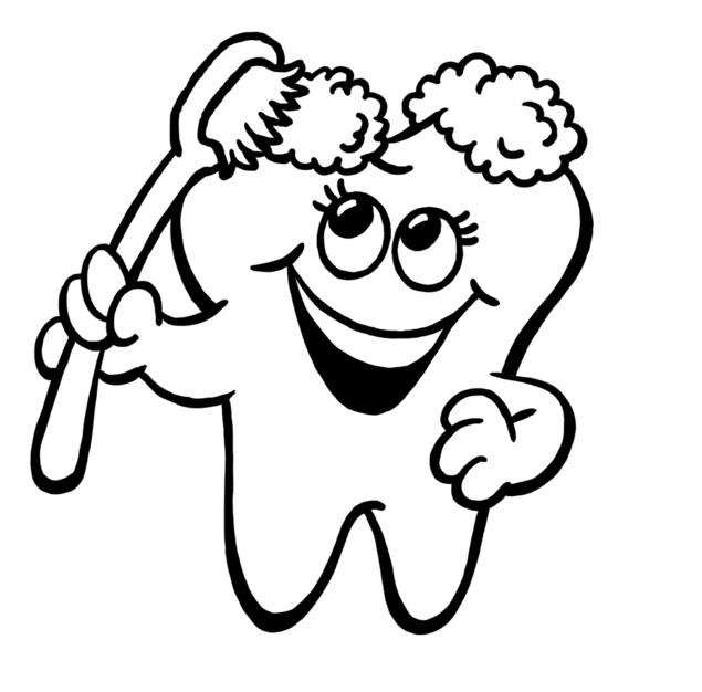 Toothbrush Clipart Outline