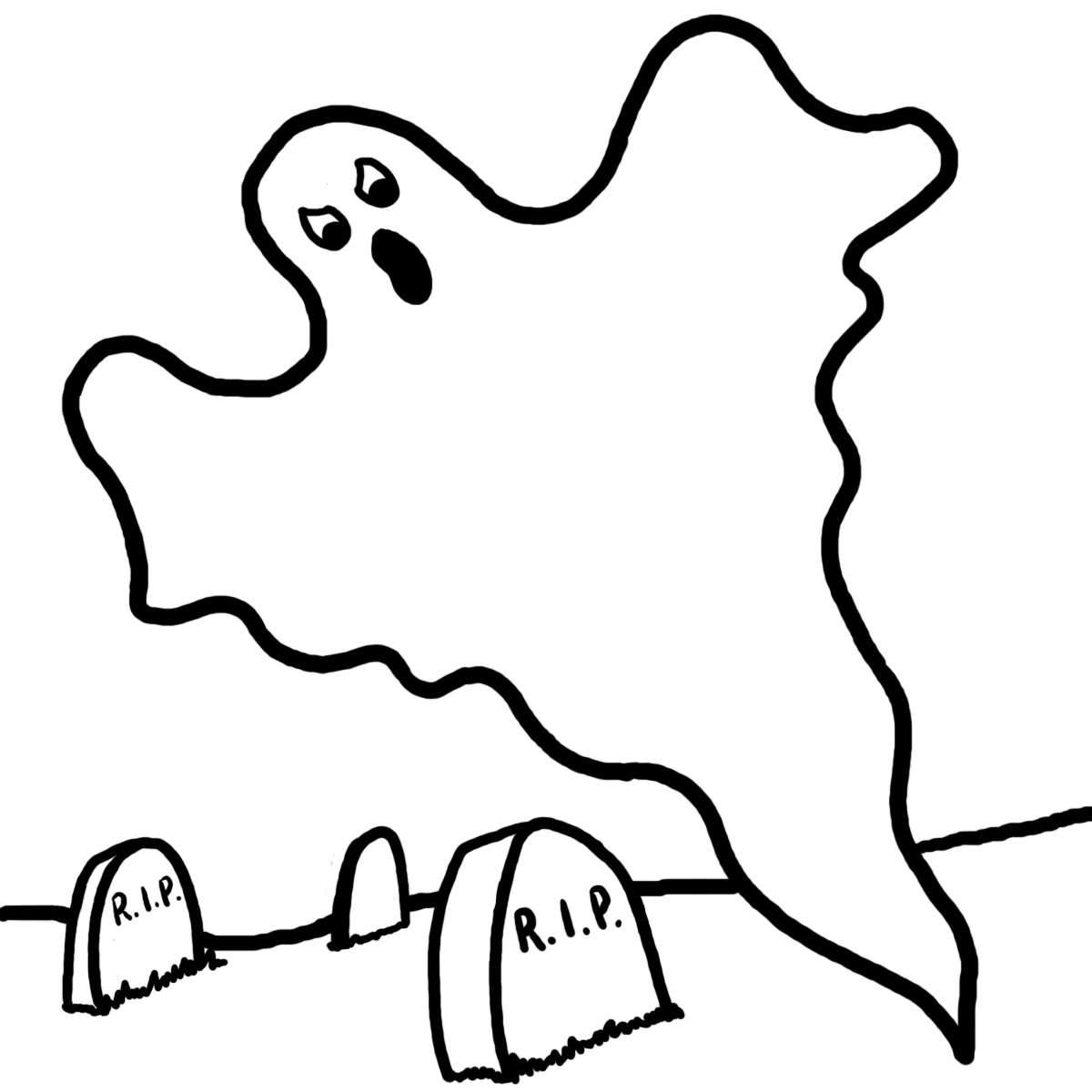 Haunted House Coloring Page Clipart Panda
