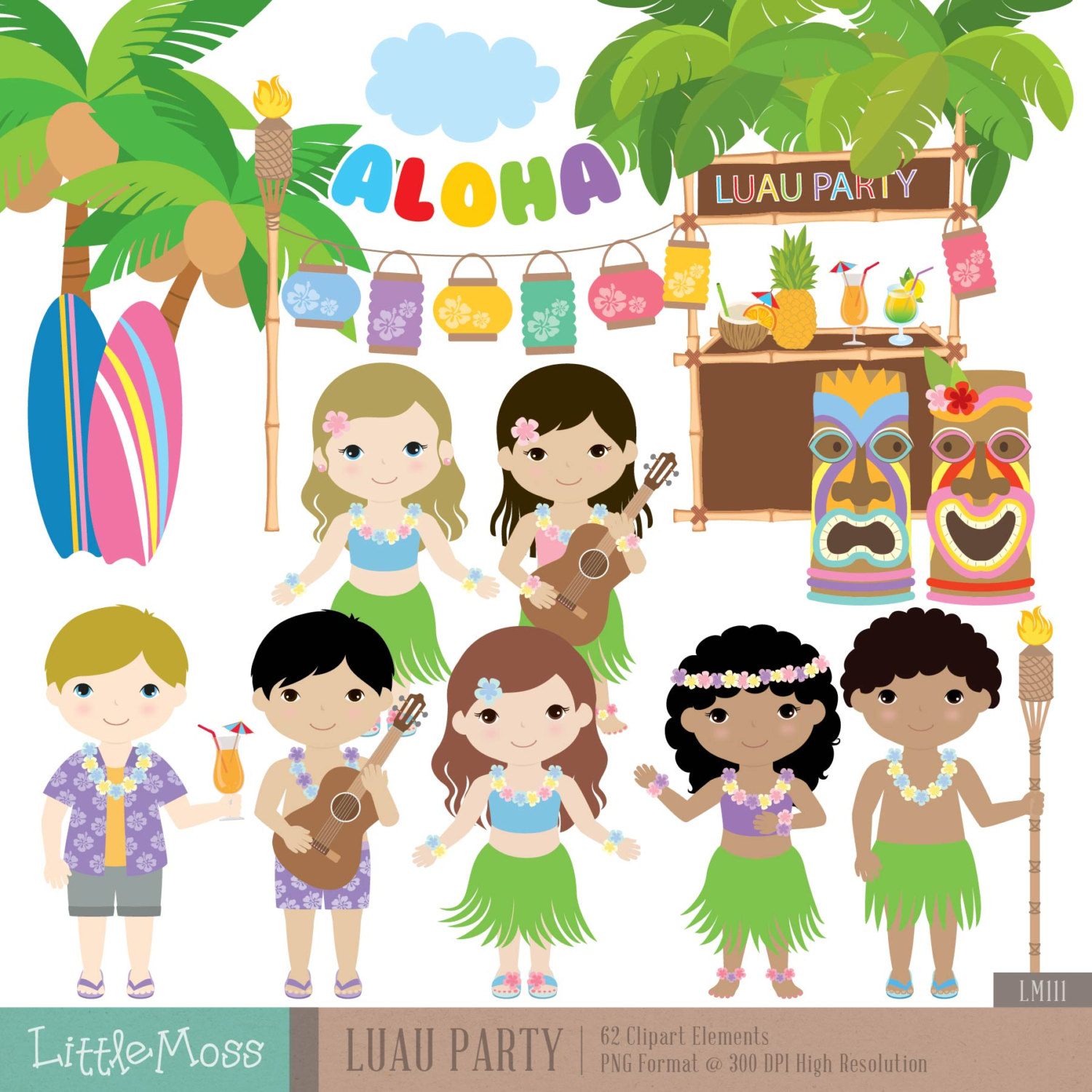 hight resolution of hawaii clipart