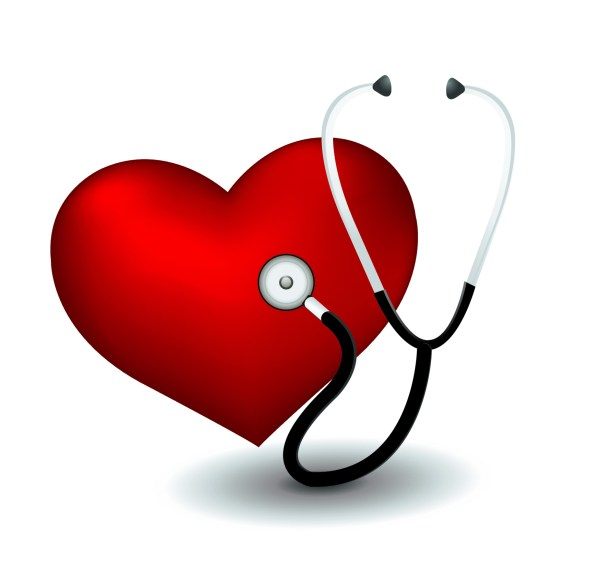 February Heart Health Clip Art