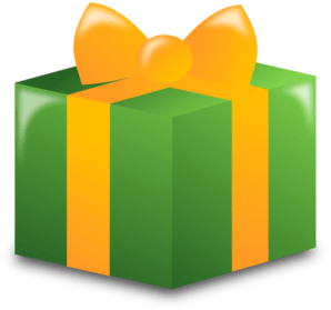 Holiday Wrapped Gift | Clipart Panda - Free Clipart Images