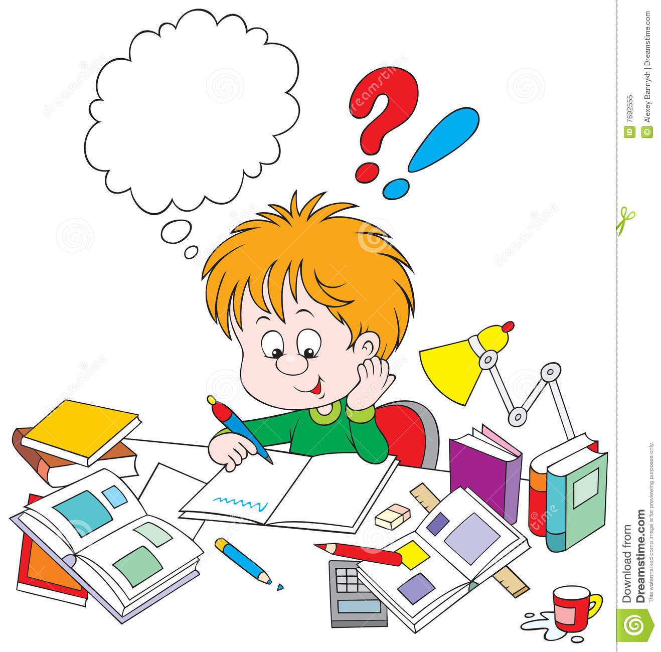 Homework Clipart Free   Clipart Panda - Free Clipart Images