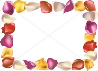 horizontal border flower clip frame rose clipart clipartpanda petal yellow summer powerpoint terms