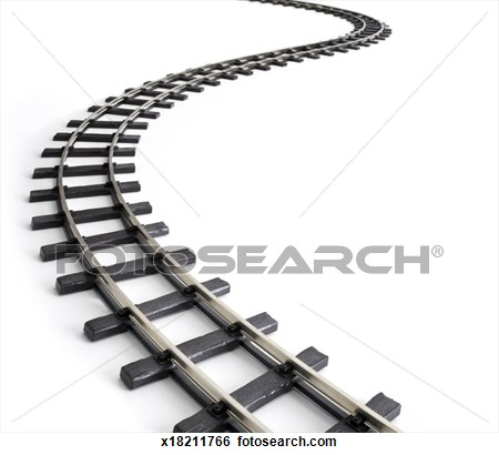 Meandering railway track Clipart Panda Free Clipart Images