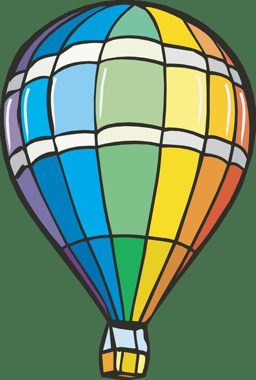 vintage hot air balloon clip art