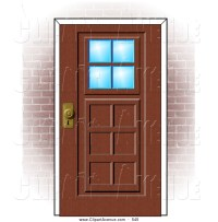 Front Door Clipart Black And White   Clipart Panda - Free ...
