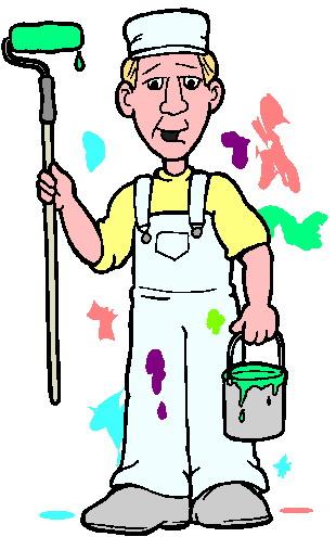 Professional Painter Painter Clip Art