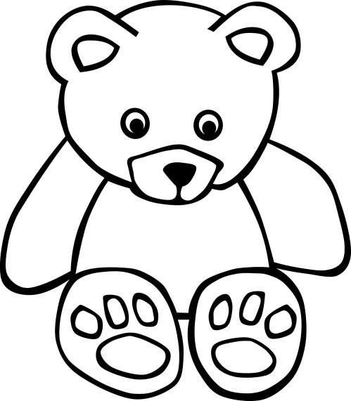 small resolution of i love you teddy bear clipart