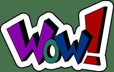 wow clipart panda - free