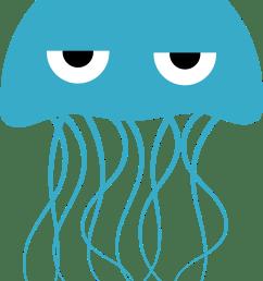 jellyfish clip art [ 1969 x 2750 Pixel ]