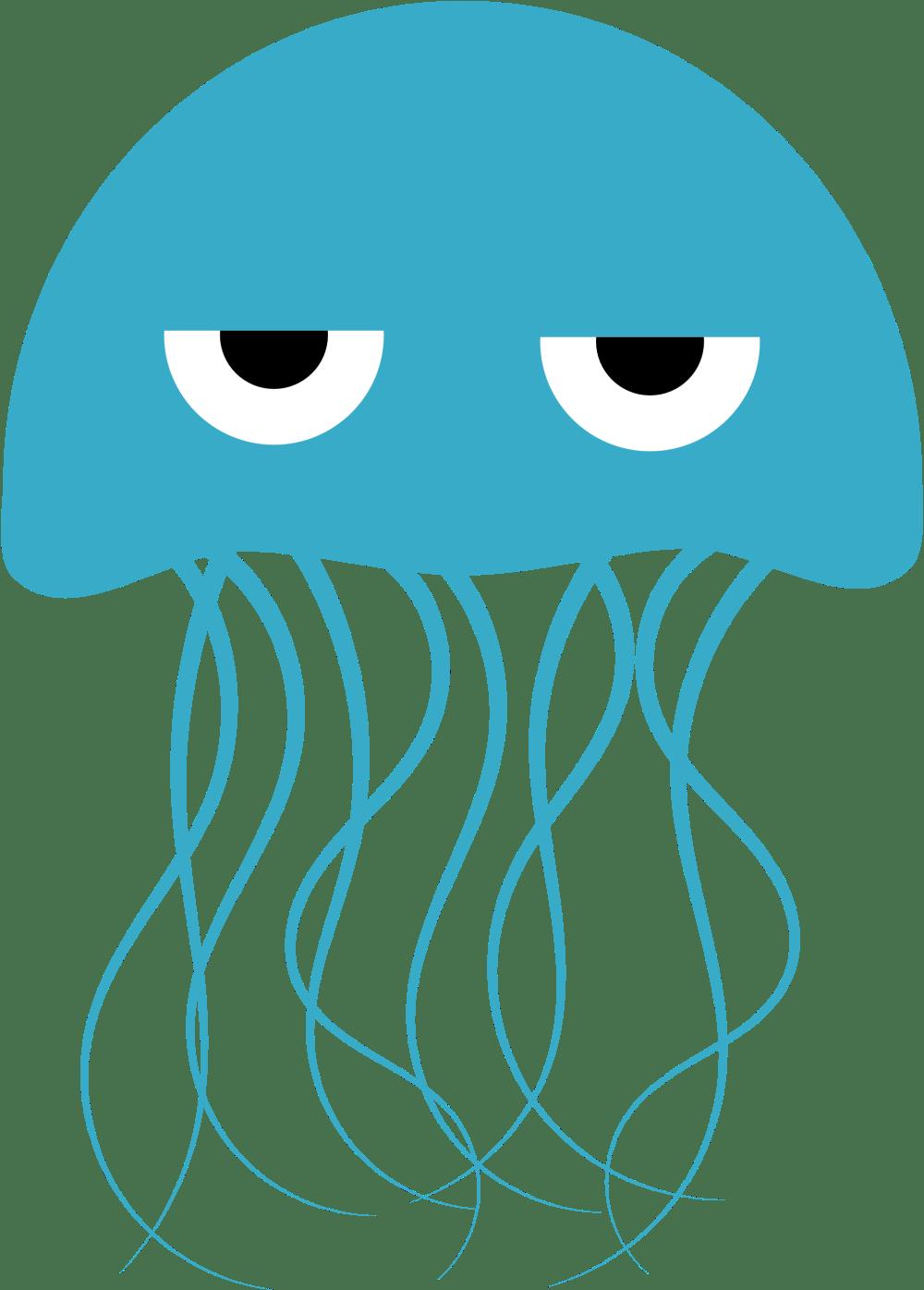 medium resolution of jellyfish clip art