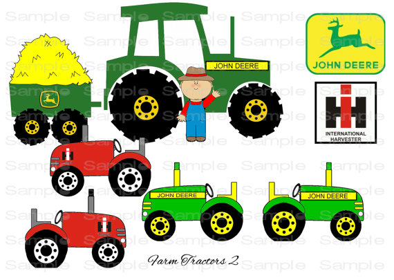 20 Dark Blue Tractor Clip Art Ideas And Designs