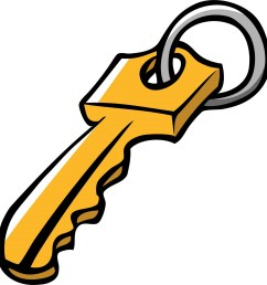 key clipart [ 1534 x 1600 Pixel ]