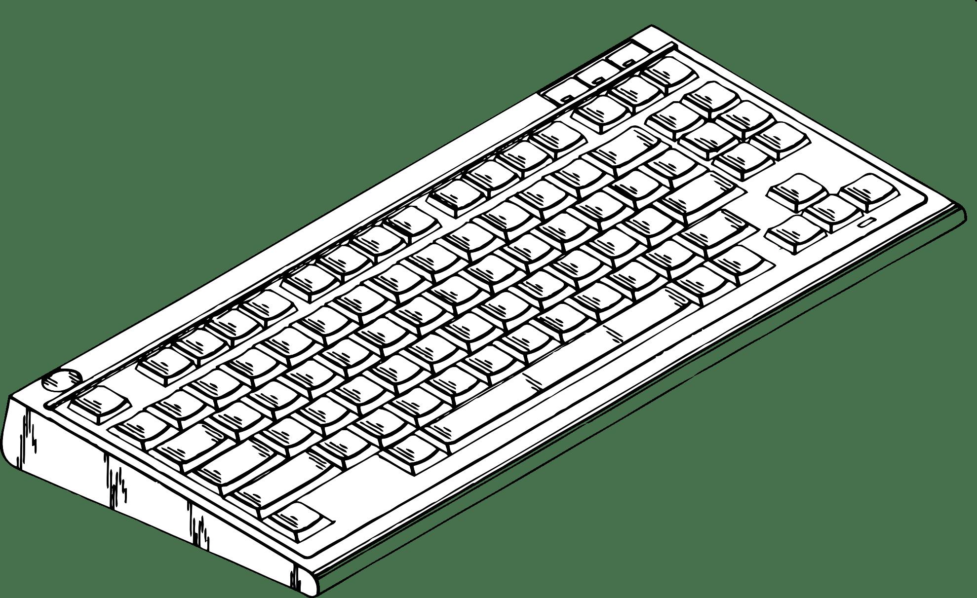 Keyboard 20clipart Clipart Panda