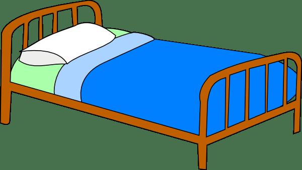 make bed clipart panda