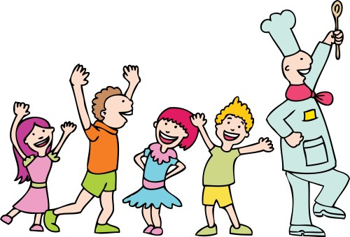 small resolution of kids cooking clipart