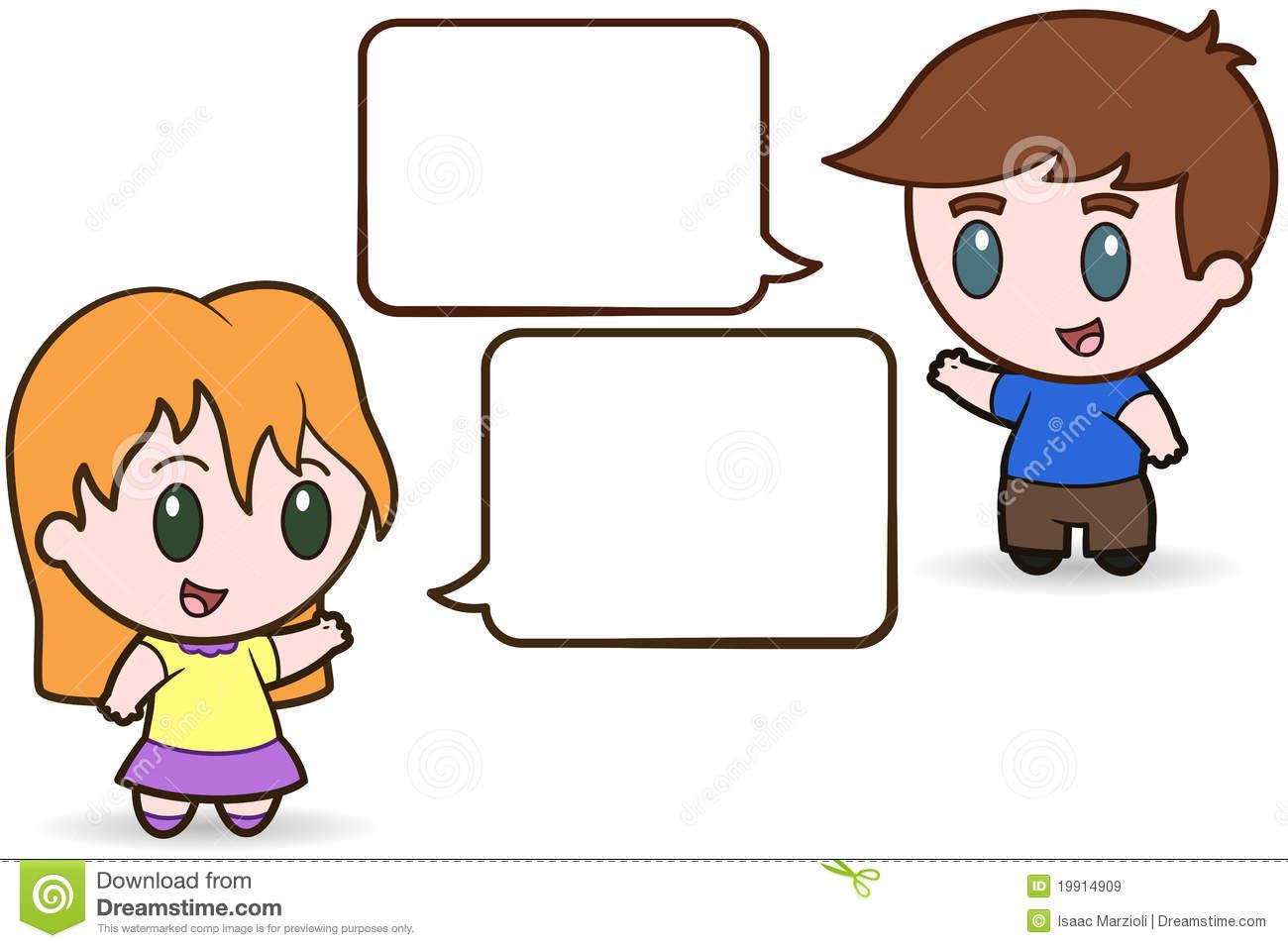 hight resolution of kids talking clipart