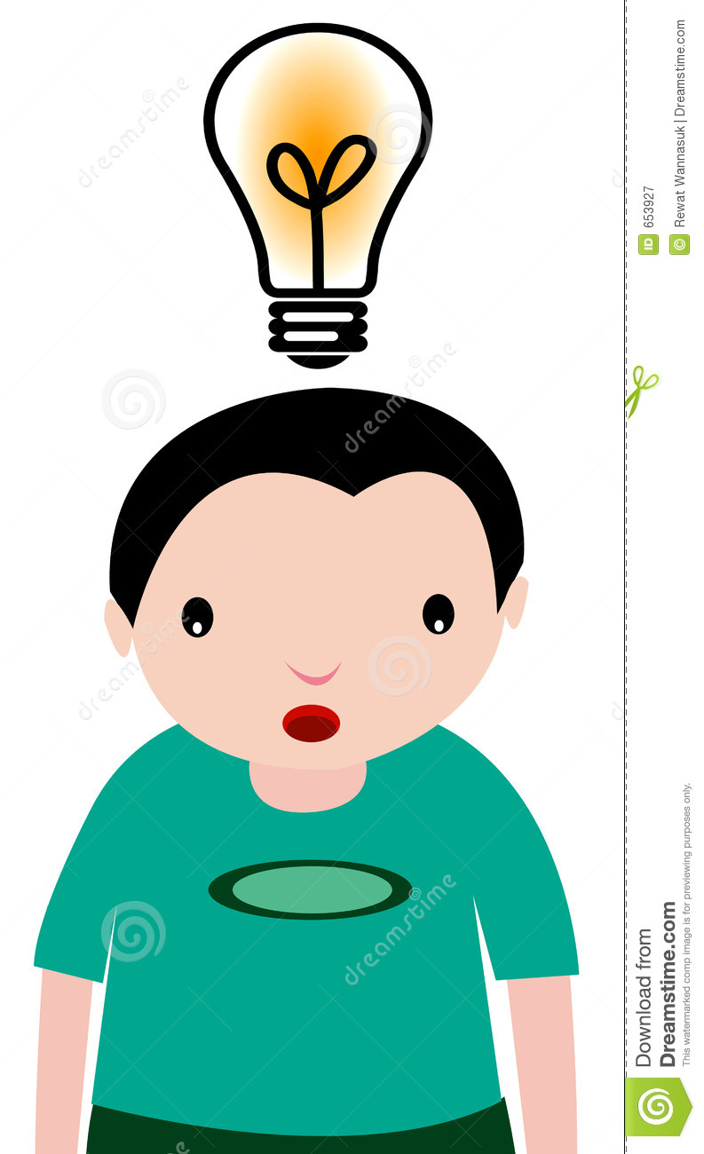 medium resolution of kids thinking clipart