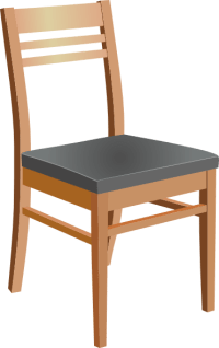 Kitchen Chair Clipart